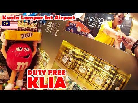 DUTY FREE Chocolate shop - Kuala Lumpur International Airport (KLIA)