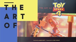 THE ART OF TOY STORY 4 BOOK | SPOILERS