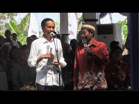Jawaban Lucu Nelayan Saat Ditanya Presiden Jokowi