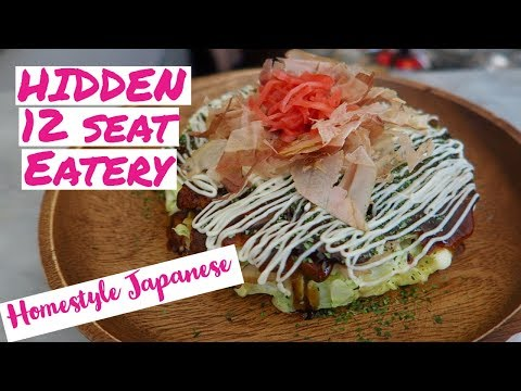 Tiny SECRET Japanese Eatery in Montreal | Montreal Food Tour Vlogs
