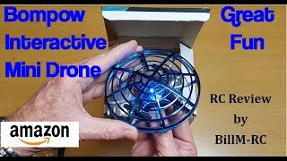 Bompow Interactive Mini Drone Review