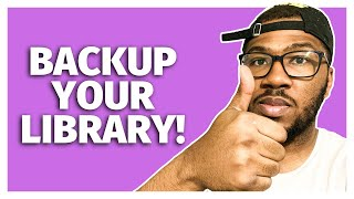 How To Backup Muṡic Library (Using Dropbox)