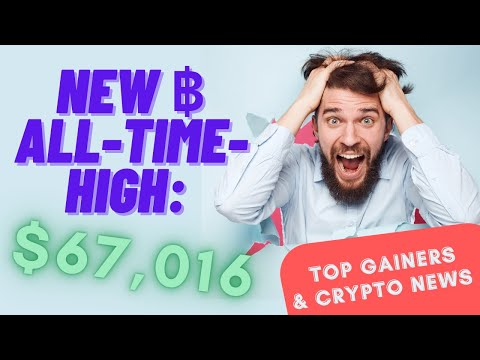 Top Gainers & Crypto News [October 20, 2021]