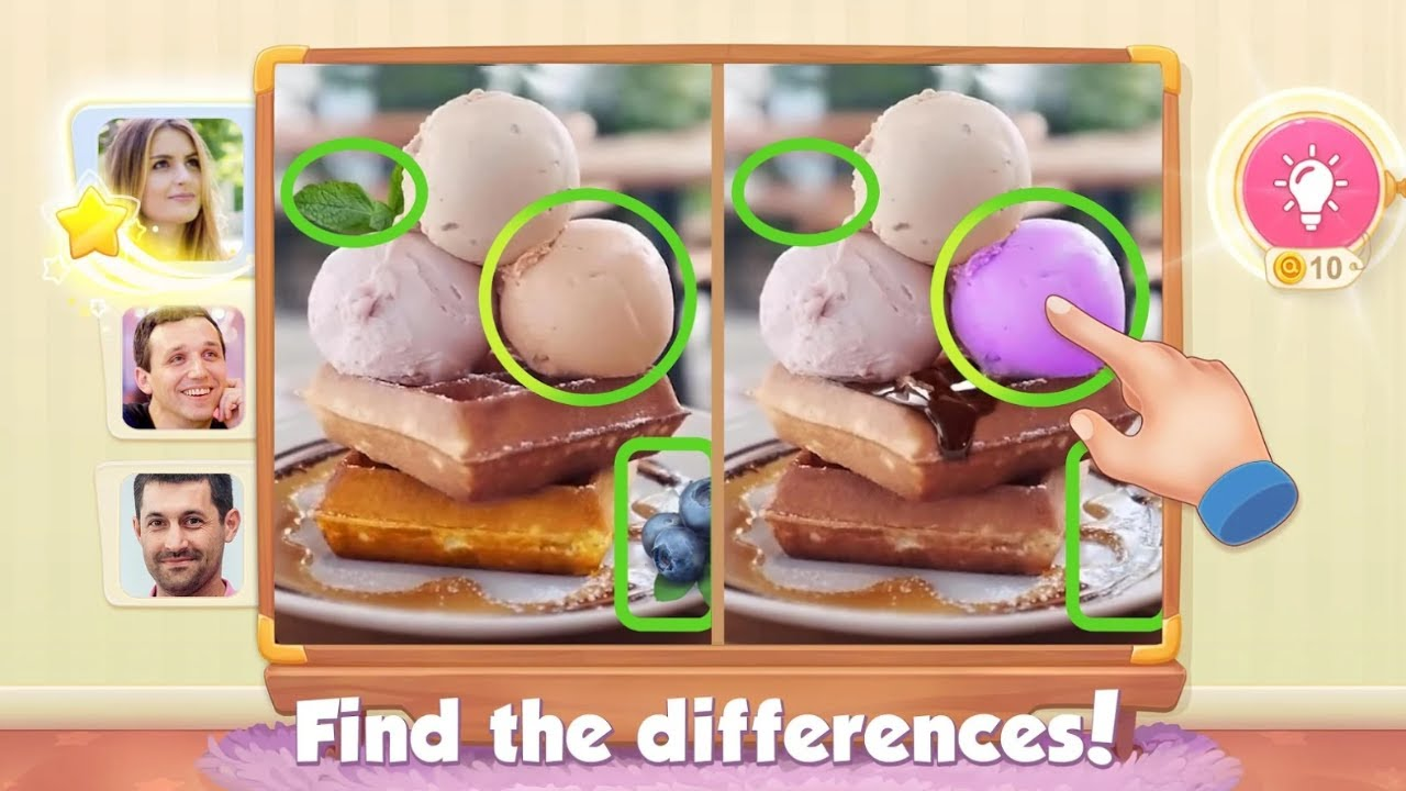5 Differences Online Android Gameplay
