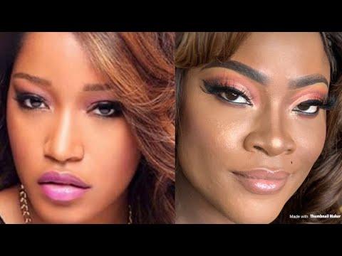 keke Palmer look a like Make Up Tutorial |Make Over |Huda  Beauty thumbnail
