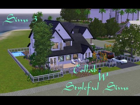 Sims 3: Green Thumb Living~Speed Build Collab w Styleful Sims