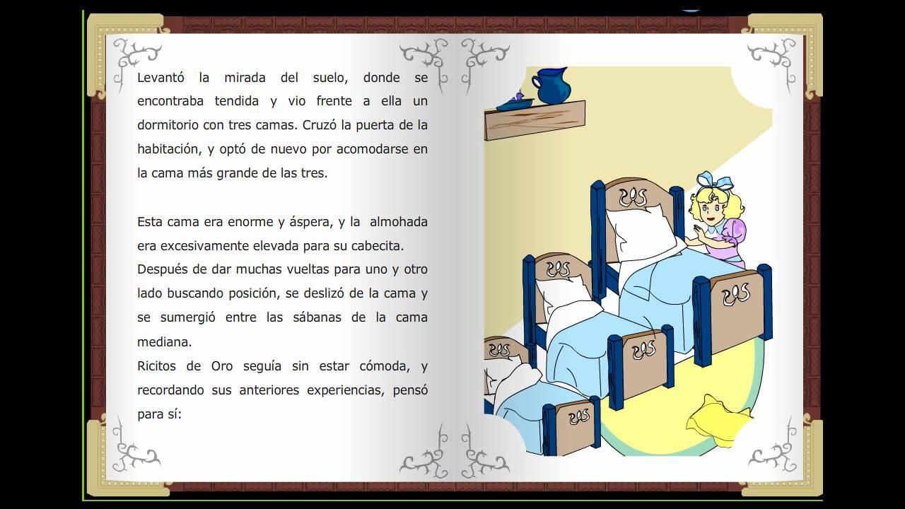 Ricitos de oro, Cuentos clásicos infantiles en español