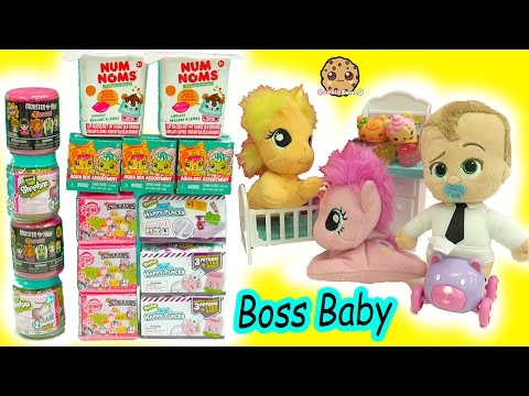 The Boss Baby + My Little Pony Babies - Shopkins, MLP StackEms Surprise Blind Bags