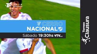Fecha 10 - Cerro vs Nacional - Clausura