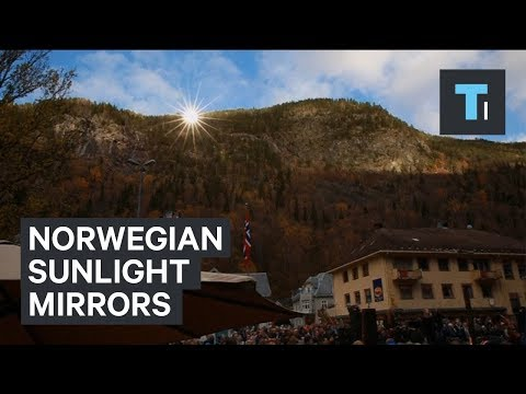 Thumbnail: Norwegian town uses mirrors to make artificial sunlight