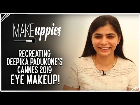 Recreating Deepika Padukone's Cannes 2019 Eye Makeup!