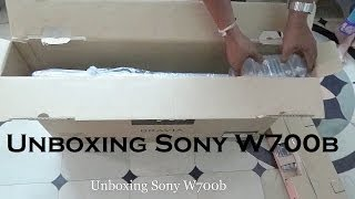 Sony W700b Unboxing India