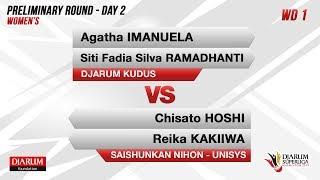 Women's Teams - Group Y PRELIMINARY ROUNDS | Agatha Imanuella/ Siti...