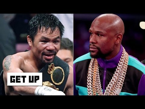 In The Zone - Rematch Brewing - Manny Pacquaio and Floyd Mayweather Tweet at Each Other