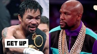 Floyd Mayweather and Manny Pacquiao exchange shots on social media | Get Up