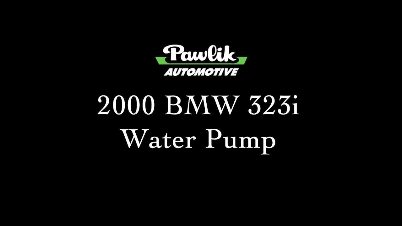 pawlik automotive 2000 bmw 323i water pump [ 1280 x 720 Pixel ]