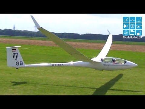 LARGEST RC GLIDER 15,50m Wingspan Gigant ETA and turbine Blanik from Bruckmann Modellbau