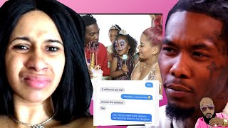 Offset Baby Mama Shya L'amour DROPS RECEIPTS That He Still Wants HER And Not Cardi B!