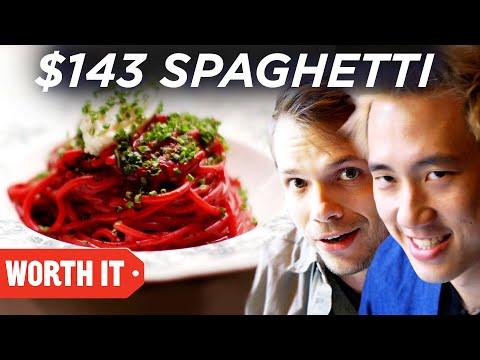 $15 Spaghetti Vs. $143 Spaghetti