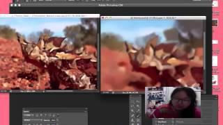 DIGITAL Painting UAS Thorny Devil -Bella Angel Budiman- DKV A