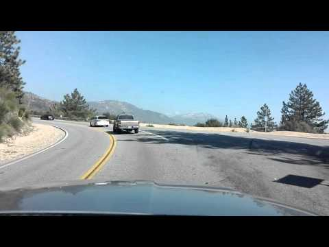 Road CA-330 to Running Springs