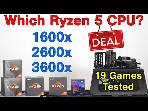 Which Ryzen 5 Should You Buy? — 1600x / 2600x / 3600x — 30 Benchmarks & Value Comparison