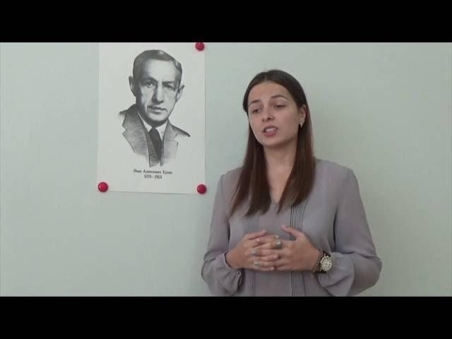 Виктория Матрёночкина читает произведение «Крест в долине при дороге» (Бунин Иван Алексеевич)