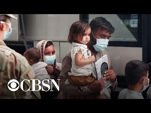 Inside the U.S. efforts to process Afghan refugees in Doha, Qatar