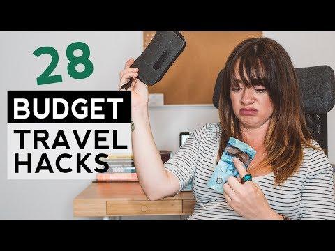 28 Budget Travel Hacks When You're Broke AF