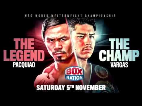 Pacquiao vs Vargas FULL FIGHT Nov 6 2016
