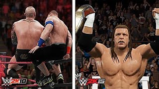 The Evolution of WWE 2K Games Graphics Comparison ft. WWE 2K18, WWE 2K14 & More