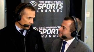 Steve Yzerman second intermission interview | Jan. 10, 2015