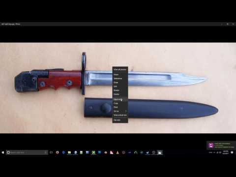 3D Modelling a Knife in Metasequoia