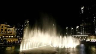 Dancing Fountain. Dubai. Canon 50D shot-by-shot video(Танцующий фонтан. Дубай. Площадь перед Бурж Халифа (на видео - это здание справа). Водосветовое представлени..., 2011-05-19T11:22:00.000Z)