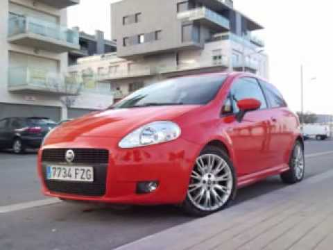 fiat grande punto sport 130cv diesel youtube. Black Bedroom Furniture Sets. Home Design Ideas