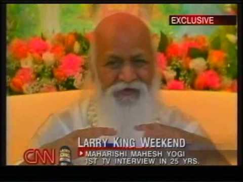 """What is Yogic Flying?,"" Asks Larry King to Maharishi Mahesh Yogi"
