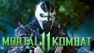 MORTAL KOMBAT 11 - POSSIBLE SPAWN DLC INTRO & OUTRO SCENES - MK 11