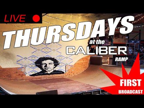 LIVE AT THE CALIBER RAMP | SANTA CRUZ CA | FIRST BROADCAST