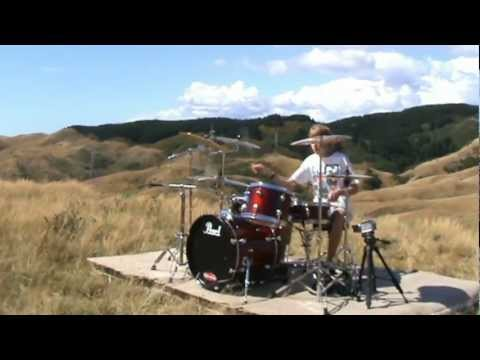 Caleb Riordan - Drum Cover - WELLINGTON ONE MORE TIME COVER CONTEST