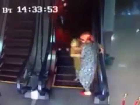 The first escalators in Uzbekistan