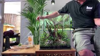 Aquascaping Workshop at Scaped Nature