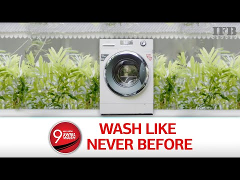 If you own or owned an IFB :) you might want to see this video about our latest washing machine.