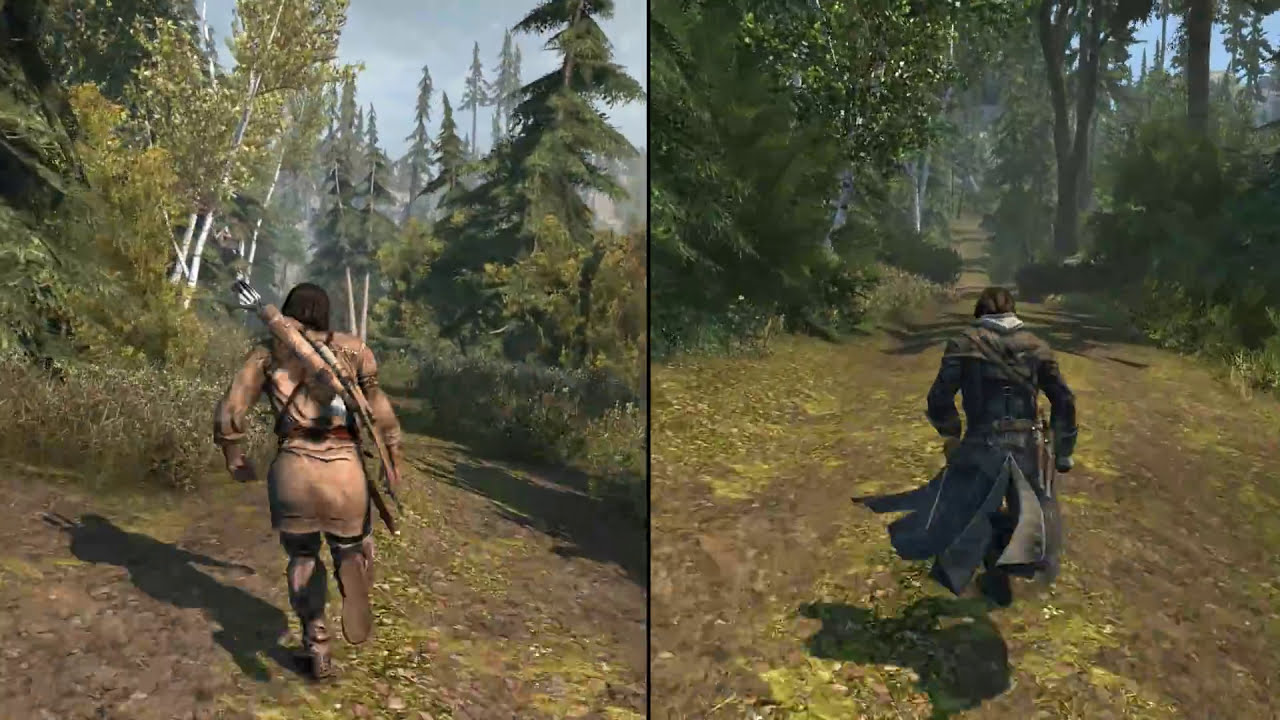 Assassin S Creed Davenport Homestead Comparison Iii Vs Rogue