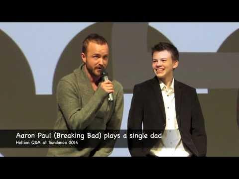 Aaron Paul (Breaking Bad) at Hellion Q&A Sundance 2014