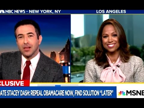 MSNBC Host Can't Believe How Clueless Stacey Dash Is
