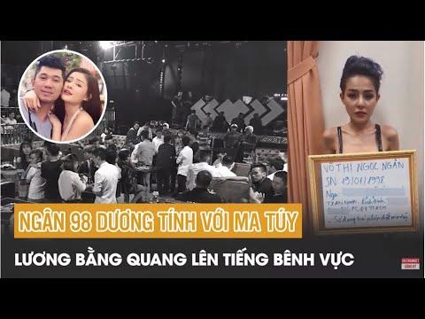 Ngân 98 bị bắt vì sử dụng ma túy? Lương Bằng Quang lên tiếng bênh vực | Tin tức Vietnamnet