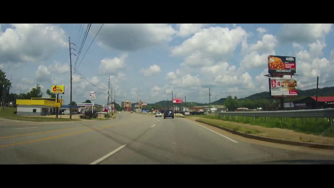 Driving around Ashland, Kentucky - YouTube