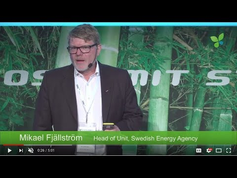 ECO17 Stockholm: Mikael Fjällström Swedish Energy Agency