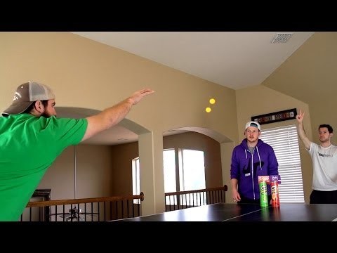 Thumbnail: Ping Pong Trick Shots | Dude Perfect