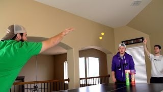 Ping Pong Trick Shots | Dude Perfect(BOOM!! Our 1st ever Ping Pong Trick Shot video has DROPPED! Click HERE for more: http://bit.ly/PringlesFlavorSlam ▻ PLAY our FREE new iPHONE GAME ..., 2014-02-17T23:00:44.000Z)